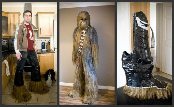 Wookiee Costume in Progress