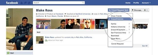 Facebook Acquaintances