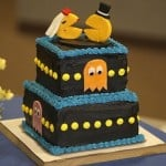 Pac-Man Wedding Cake