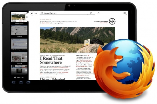 mozilla firefox for tablets