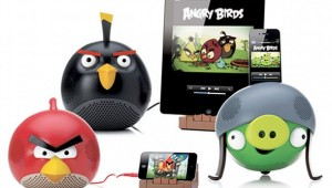 Angry Birds Speakers Dock