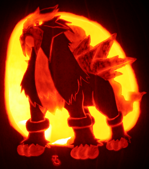 Entei pumpkin