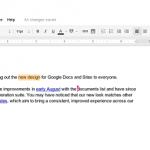 Google Docs New Look