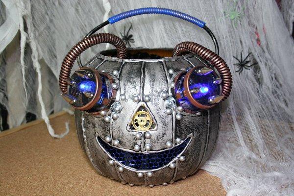 Halloween Steampunk Pumpkins 1
