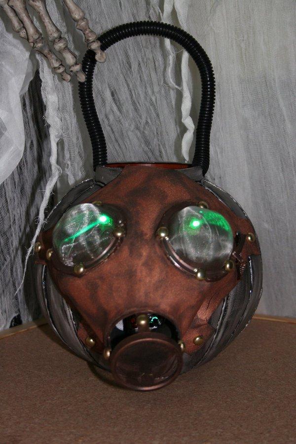 Halloween Steampunk Pumpkins 3