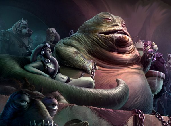 Jabba dances 1