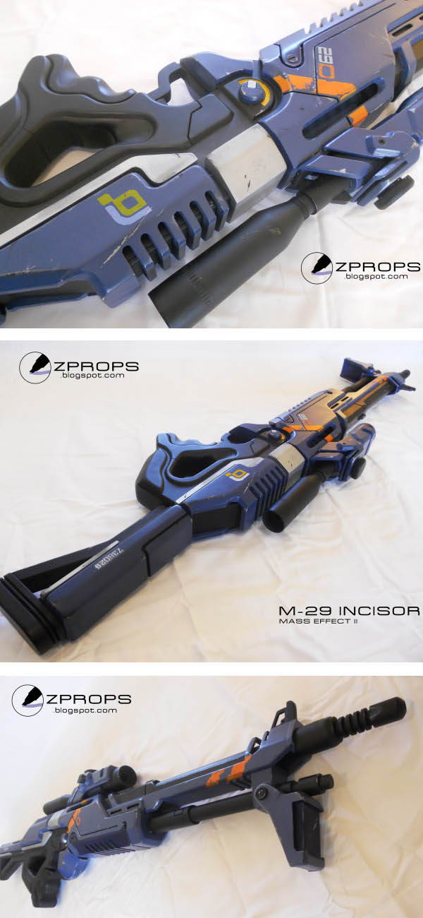Mass Effect Sniper Rifle Prop