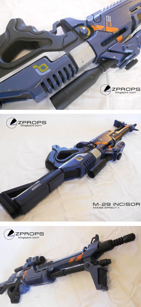 Mass Effect Sniper Rifle Prop