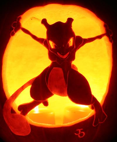 Mewtwo-Pumpkin
