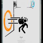 Portal iPad Sticker 1