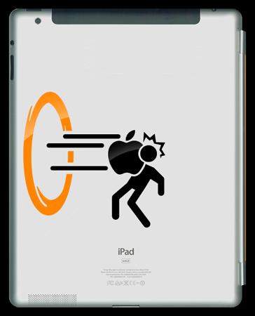 Portal iPad Sticker 2