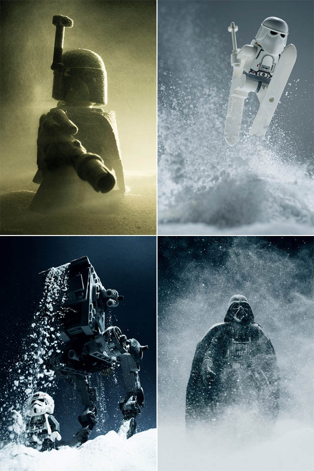 Star Wars Toy Photography