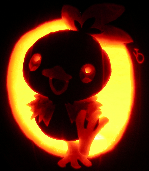 Torchic-Pumpkin