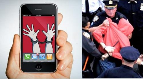 arrested app
