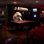 Astronaut in a bar