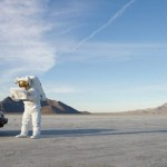 Astronaut on a road trip