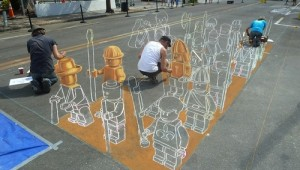 3d lego chalk terra cotta army