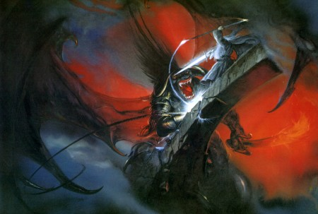smaug vs dragon