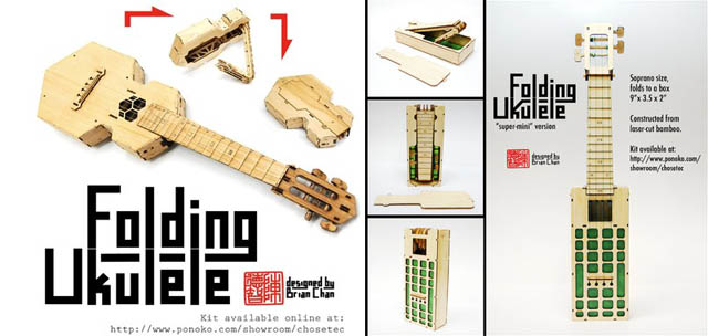 Brian Chan Folding Ukulele Kits