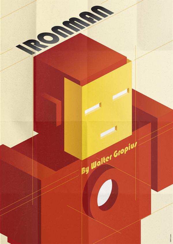 Dadaist Iron Man