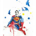 Depressed Superman