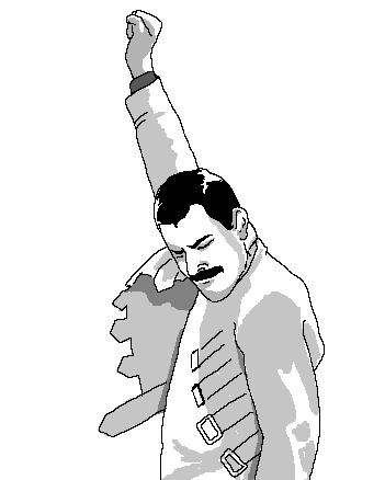 Freddie Mercury Rage 1