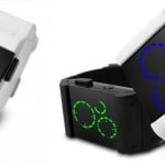 Kisai Satellite White LED Watch