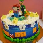 Mario & Luigi Cake