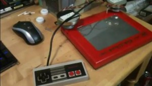 NES Etch-a-Sketch