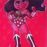 Piggy Wonder woman