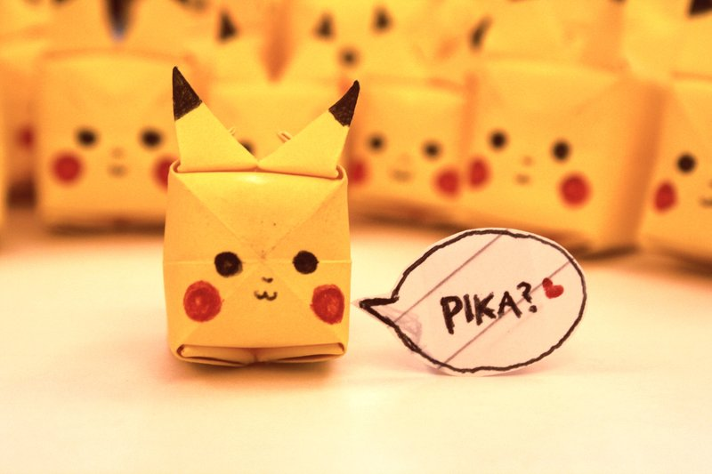 Pokemon – Pikachu 3D Model Papercraft Template, Review & Download ... | 533x800