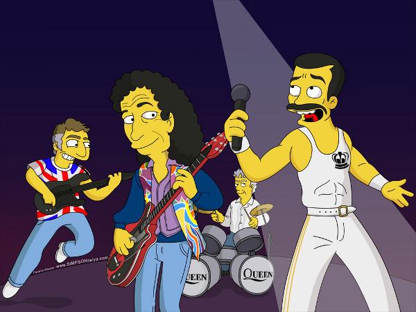 Queen Simpsons