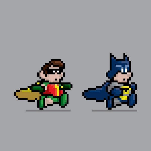 Super Heroes Mario Bros 10