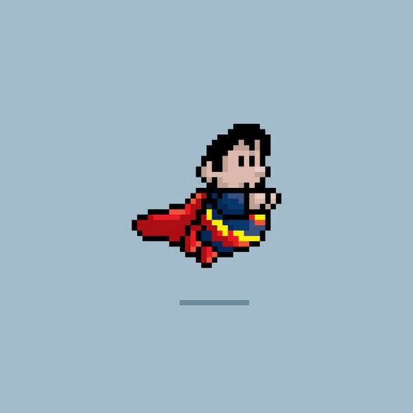 Super Heroes Mario Bros 9