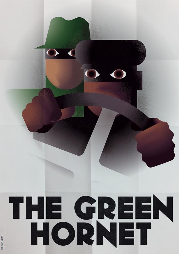 Vintage Green Hornet