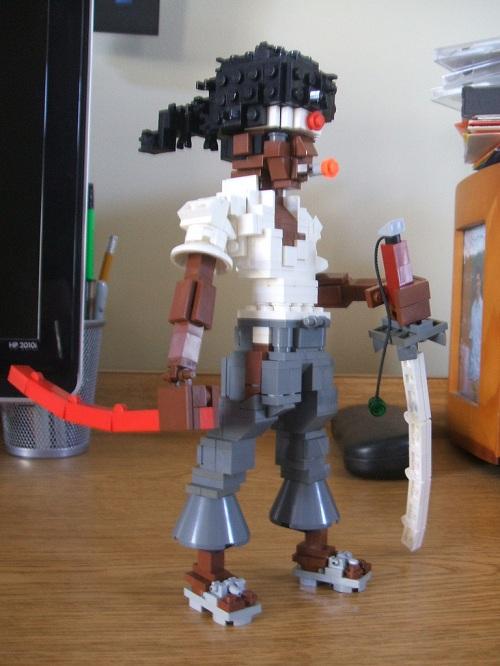 afro samurai lego