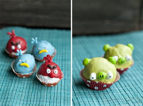 angry birds more cupcakes