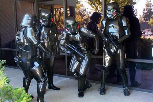 carbon fiber stormtrooper suits