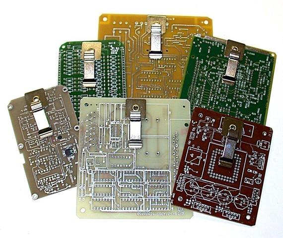 Circuit Board World Map