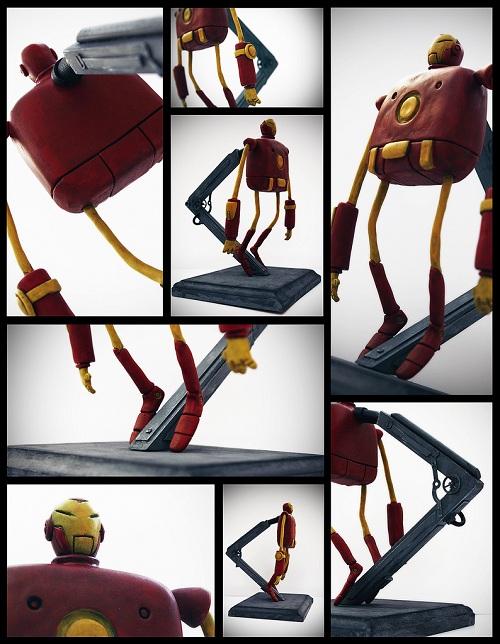 iron man art sculpture