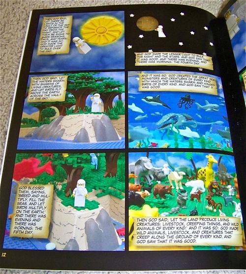 lego bible god genesis creating world