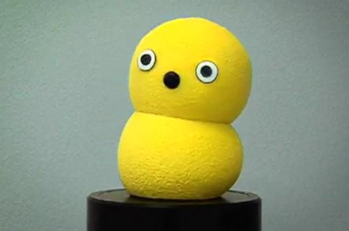 my keepon yellow robot