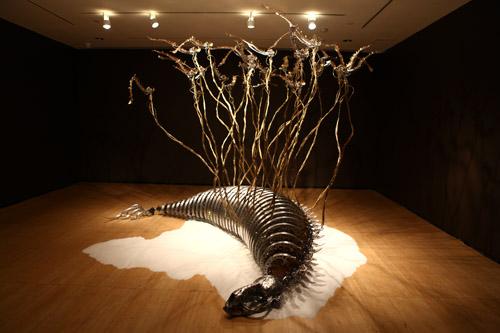 Custos Cavum kinetic sculpture