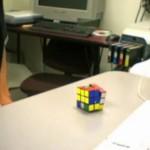 self solving rubik cube