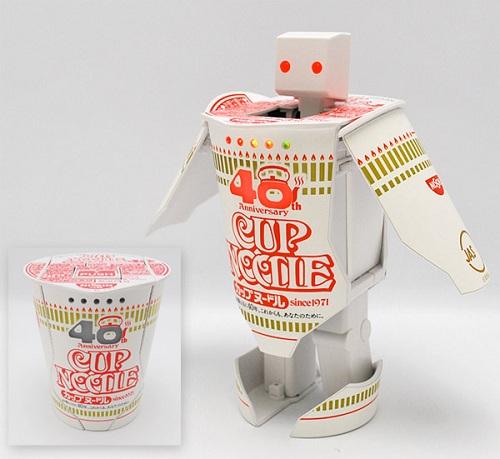 soup cup transformer robot japan