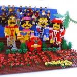 the beatles lego
