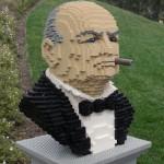 winston churchill lego