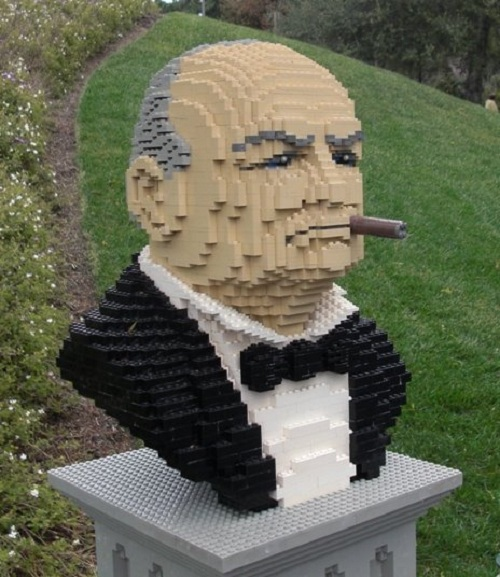 winston churchill lego