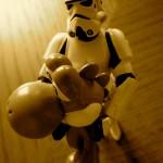 The Stormtrooper got Yoshi