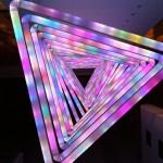 10 meter light show